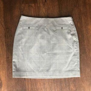 •Banana Republic• Plaid Mini Skirt